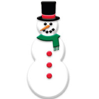 PLAY-DOH Winter Wonderland Snowman Activity