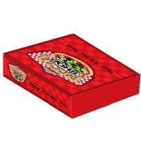 PLAY-DOH Pizza Box Activity