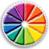 PLAY-DOH Colour Wheel Activity