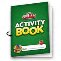PLAY-DOH Back to School Activity Book