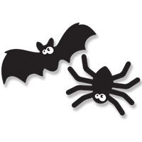 PLAY-DOH Halloween Spiders and Bats Activity