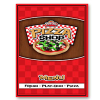 PLAY-DOH Pizza Shop Menu Activity