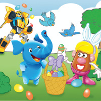 PLAYSKOOL Easter Card