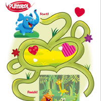 PLAYSKOOL Elefun & Friends Maze