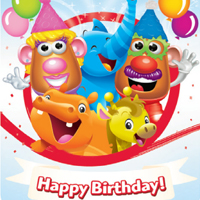 PLAYSKOOL Birthday Card