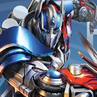 OPTIMUS PRIME Infographic - TRANSFORMERS 4