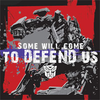 TRANSFORMERS Wallpaper: DEFEND US