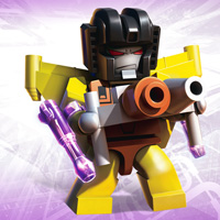 KRE-O TRANSFORMERS KREON MICRO-CHANGERS SUNSTORM Wallpaper