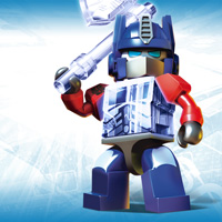 KRE-O TRANSFORMERS KREON OPTIMUS PRIME Wallpaper