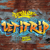 Beyblade Graffiti Wallpaper