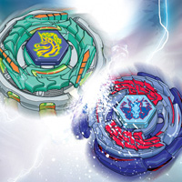 Beyblade Tops Wallpaper