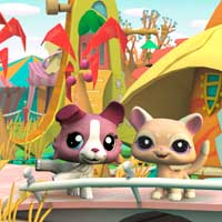 Littlest Pet Shop Friends - Beach Wallpaper