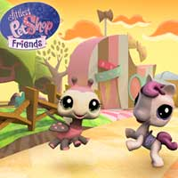 Littlest Pet Shop Friends - County Wallpaper
