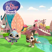 Littlest Pet Shop Friends - City Wallpaper