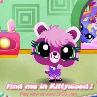 Littlest Pet Shop Online Kittywood Screensavers Sparklyn