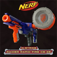 NERF Raider Screen Saver