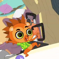 LITTLEST PET SHOP TV Show Clip - Russell Up Some Fun
