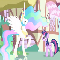 MY LITTLE PONY - Webisode 4 Princesse Celestia