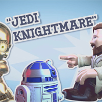 STAR WARS Fighter Podcast - Jedi Knightmare