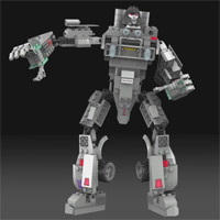 KRE-O MEGATRON - Digital Build Video