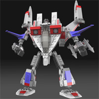 KRE-O STARSCREAM - Digital Build Video