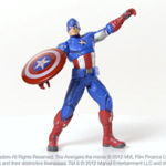 MARVEL THE AVENGERS Ultra Strike CAPTAIN AMERICA Figure Demo