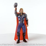 MARVEL THE AVENGERS Mighty Strike THOR Figure Product Demo