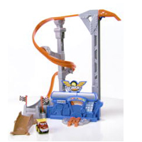TONKA CHUCK & FRIENDS TWIST TRAX TORNADO TOWER Playset Demo