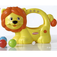 PLAYSKOOL POPPIN' PARK LEARN 'N POP LION Toy Product Demo
