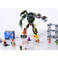 KRE-O TRANSFORMERS DESTRUCTION SITE DEVASTATOR Product Demo