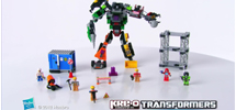 KRE-O Transformers Destruction Site Devastator Produktdemo-Video