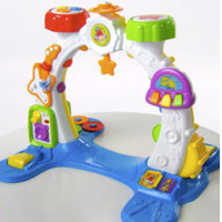 PLAYSKOOL ROCKTIVITY SIT, CRAWL `N STAND BAND Product Demo