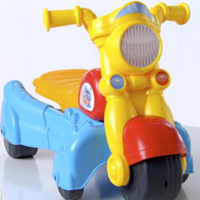 PLAYSKOOL ROCKTIVITY WALK `N ROLL RIDER (Blue) Product Demo