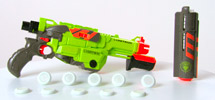 NERF VORTEX LUMITRON Blaster Product Demo