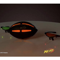 NERF Sports FIREVISION Football Product Demo