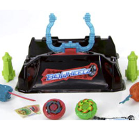 BEYBLADE BEYWHEELZ CRASH COURSE BATTLE SET Product Demo