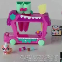 Littlest Pet Shop Bonbon-Bus Demo