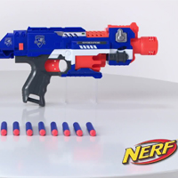 Nerf N-Strike Elite Stockade Produktdemo-Video - 98695148_5010994649111