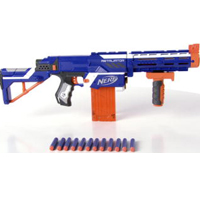 NERF N-STRIKE ELITE RETALIATOR Product Demo