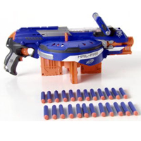 NERF N-STRIKE ELITE HAIL-FIRE Product Demo