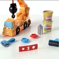 PLAY-DOH Diggin' Rigs Buster the Crane Demo Video