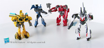 TRANSFORMERS PRIME CYBERVERSE LEGENDS (37980) Product Demo