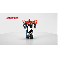 Transformers Robots in Disguise RID Mega Flip Optimus Prime