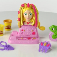 PLAY-DOH Disney Princess Rapunzel Hair Designs Set Demo
