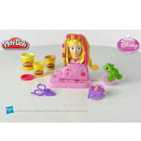 Product Demonstration - PLAY-DOH Disney Princess Rapunzel Hair Designs Set