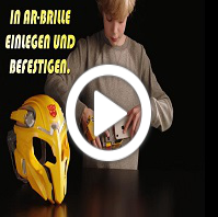 Transformers Bee Vision Maske - Produktdemo-Video