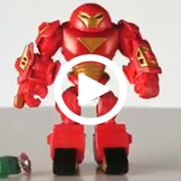 Marvel Super Hero Mashers Hulk Buster Figure Upgrade