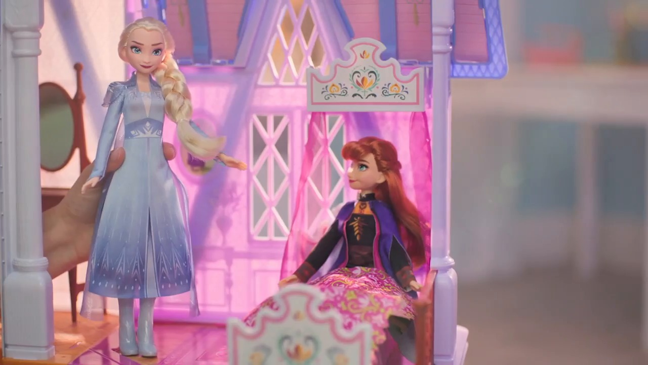 E5495_FRZ 2 Arendelle Castle (with Basic Dolls)