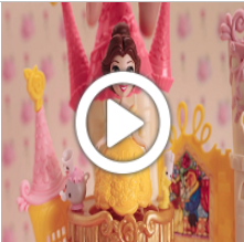 E0243-DISNEY PRINZESSIN LITTLE KINGDOM BALLERINA PRINZESSINNEN RAPUNZEL