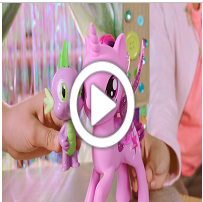MY LITTLE PONY MOVIE PRINZESSIN TWILIGHT SPARKLE & SPIKE, DER DRACHE SINGENDES DUO